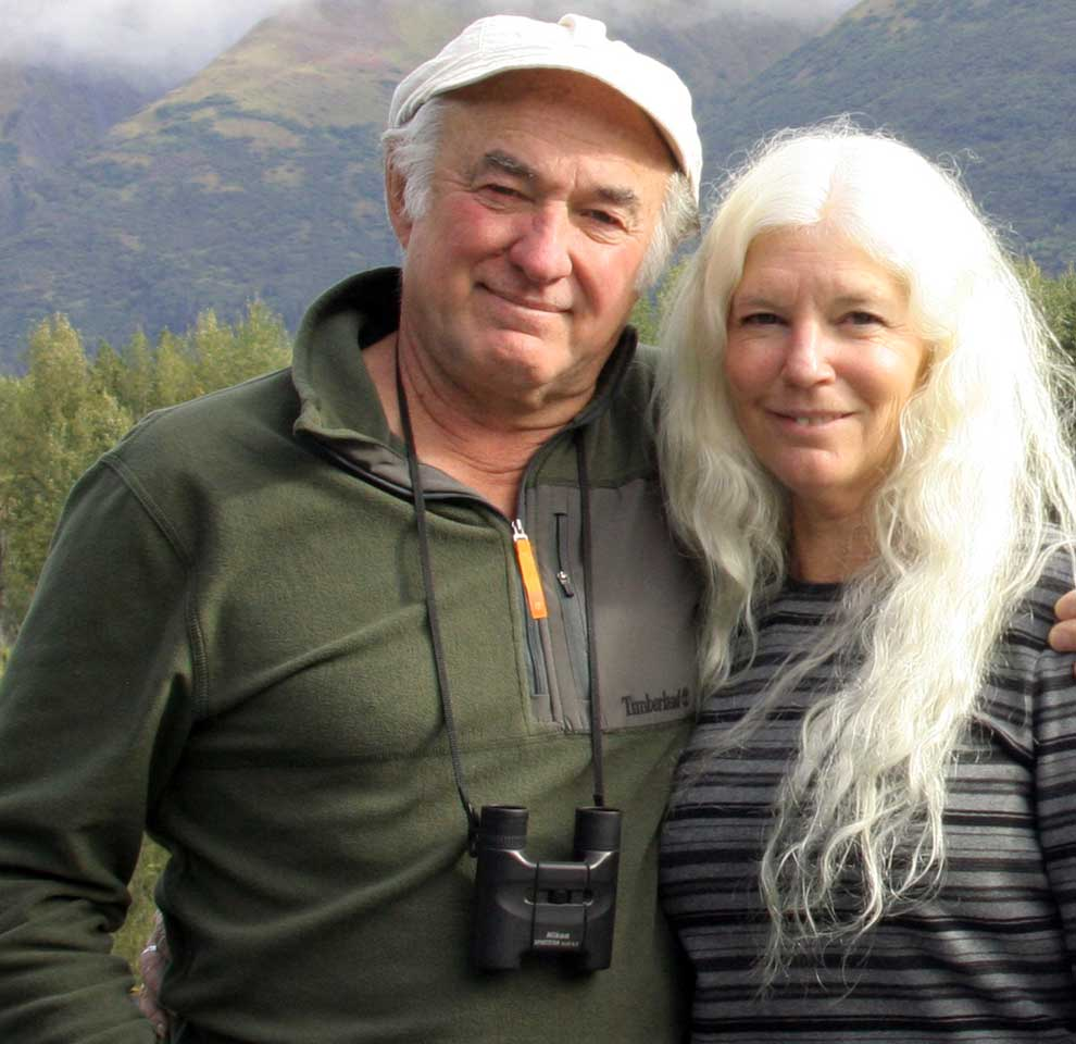 Nancy and Larry in Seward, Alaska